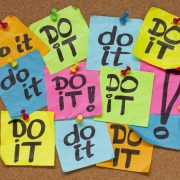 do it – procrastination concept